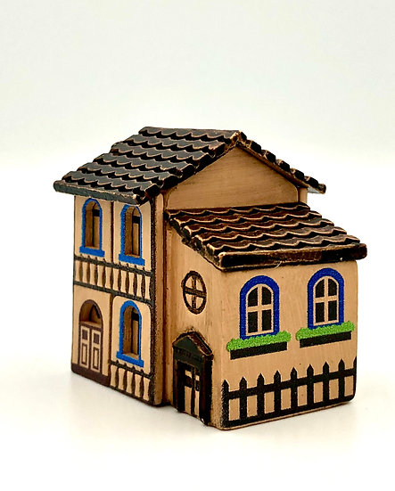 Wooderful Life Shop House Ornament