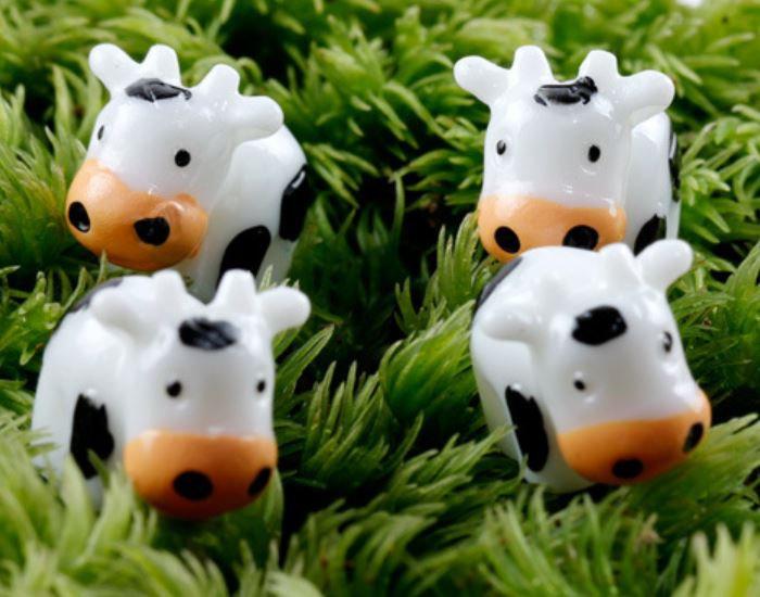 Small Cow Figurine