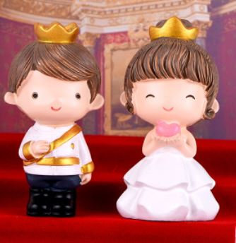Prince & Princess (Big) Figurine