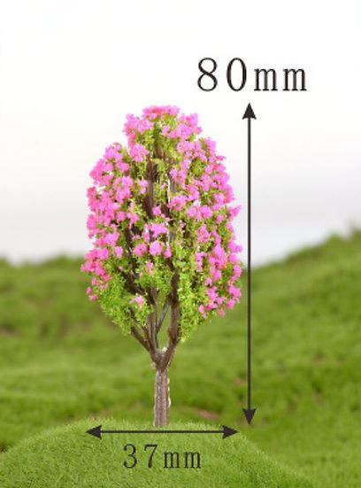 Tall Trimmed Tree Figurine