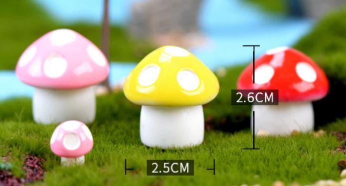 Big Mushroom Figurine