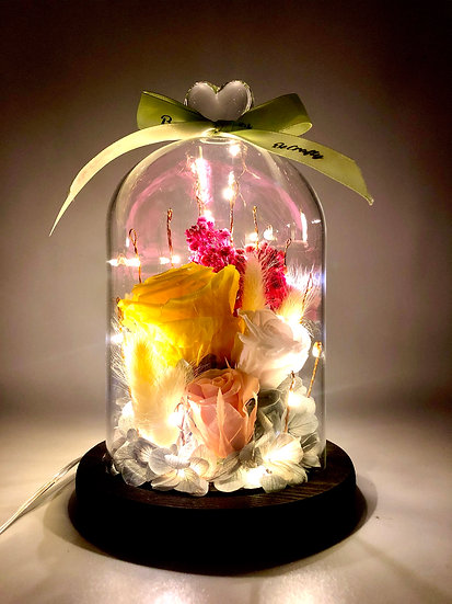 Sunshine With You Preserved Flower Arrangement