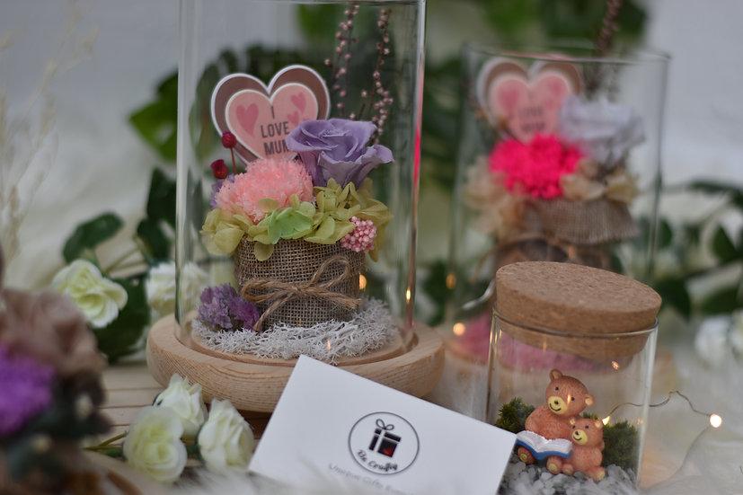 A Basket of Love Preserved Flower