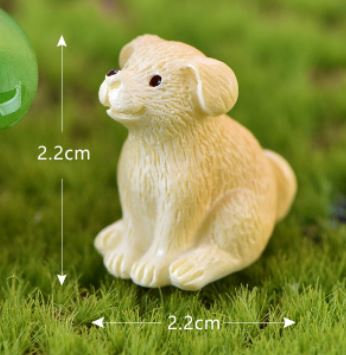 Yellow Dog Figurine