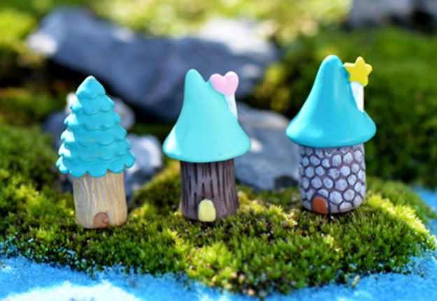 Small Fairy House Figurine