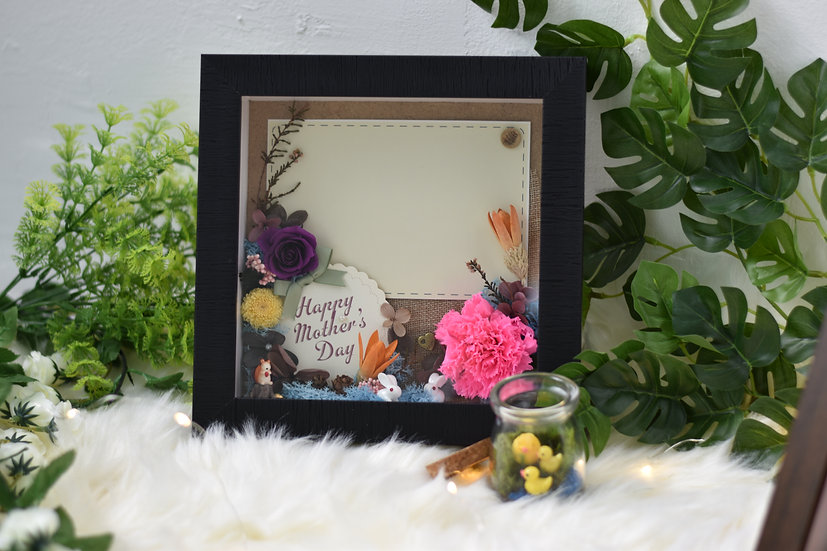 Strong Word Photo Frame