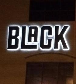 Backlit Letters