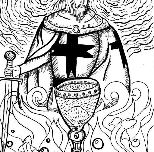 Il Cavaliere di Coppe