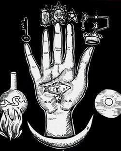 La mano Alchemica