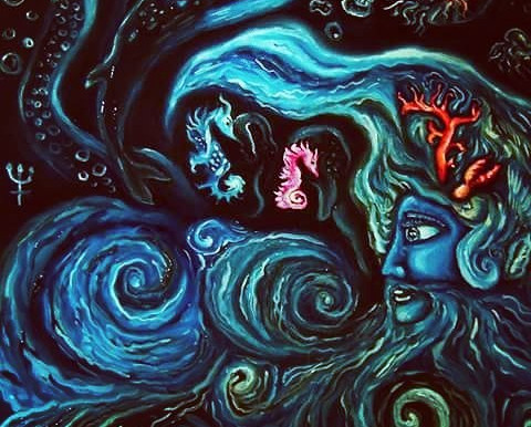 Oceano e il contatto con il mondo dei Sogni