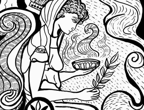 L'oracolo delfico e il culto ctonio-apollineo