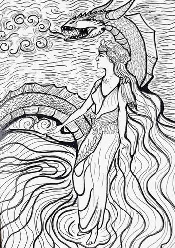 Sirena del mare cheto