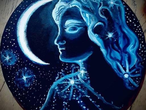 La Luna, el Espejo de Luz Espiritual