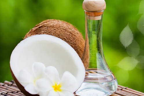 Extra Virgin Coconut Oil, Cold Pressed-(650ml, Glass bottle)