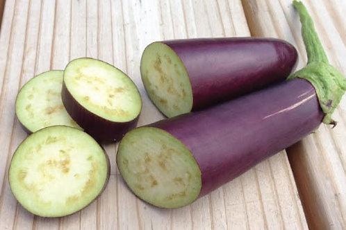 Purple Eggplant  (Solanum melongena) - Terong Unggu (250g)