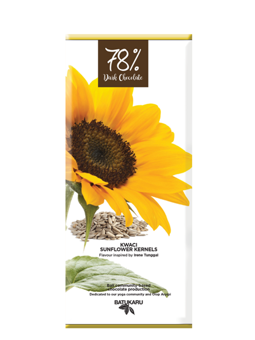Sunflower Kernels Dark Chocolate 78% (50g)