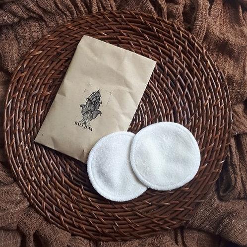 Reusable Make-up Remover Cotton Pads (3pcs)