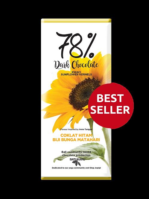Sunflower Kernels Dark Chocolate 78% (50g)