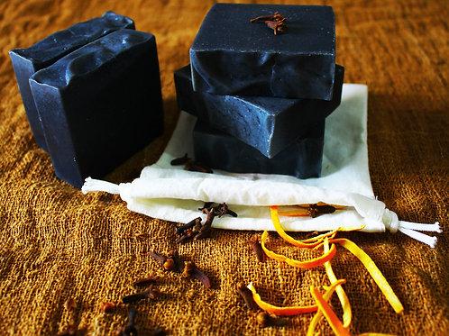 Handmade Cloves & Orange Soap (100g)