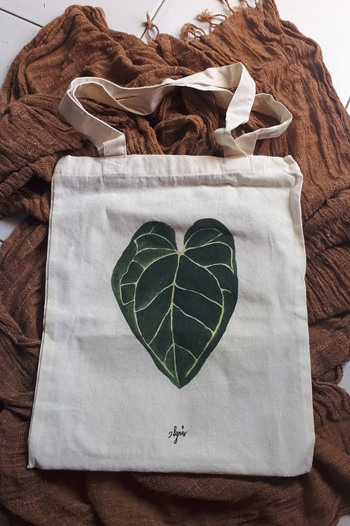 Limited Edition Tote Bag - Leaf Design