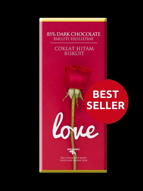 Paillete Feuilletine Dark Chocolate 85% (50g)
