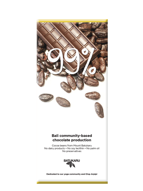 Dark Chocolate 99% (50g)