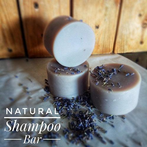 Natural & Vegan Shampoo Bar - Lavender  (80g)