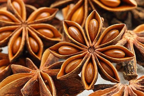 Star Anise (Illicium verum) - Bunga lawang (100g)