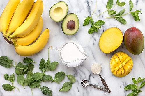 Banana, Mango, and Avocado Vinegar (100ml)