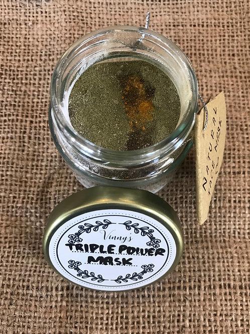 Face Mask Triple Power (100ml Jar)