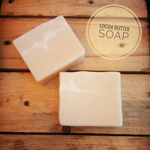 Natural & Vegan Cocoa Butter Soap (100g)