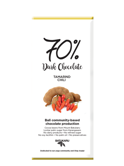 Tamarind Chili Dark Chocolate 20% (50g)
