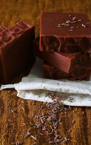 Handmade Lavender Soap (100g)