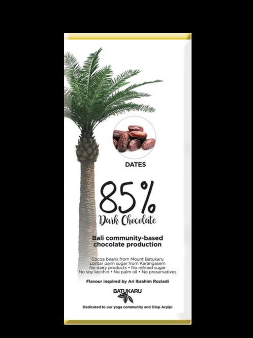 Dates Dark Chocolate 85% (50g)
