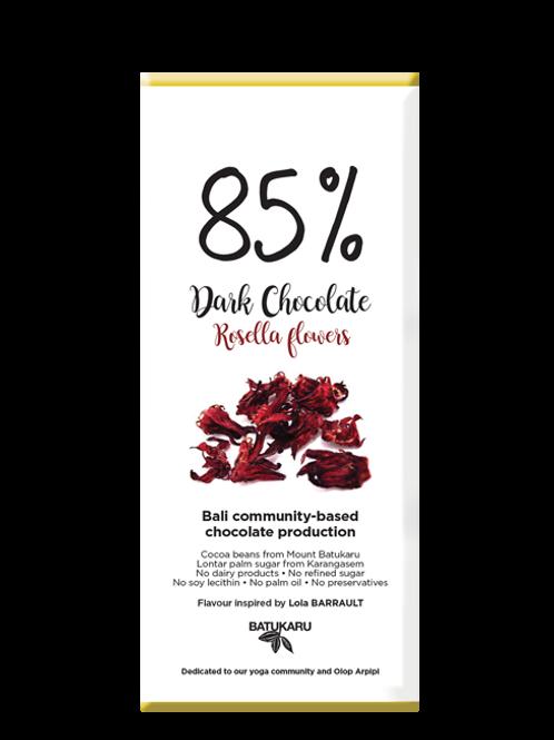 Rosella Dark Chocolate 85% (50g)
