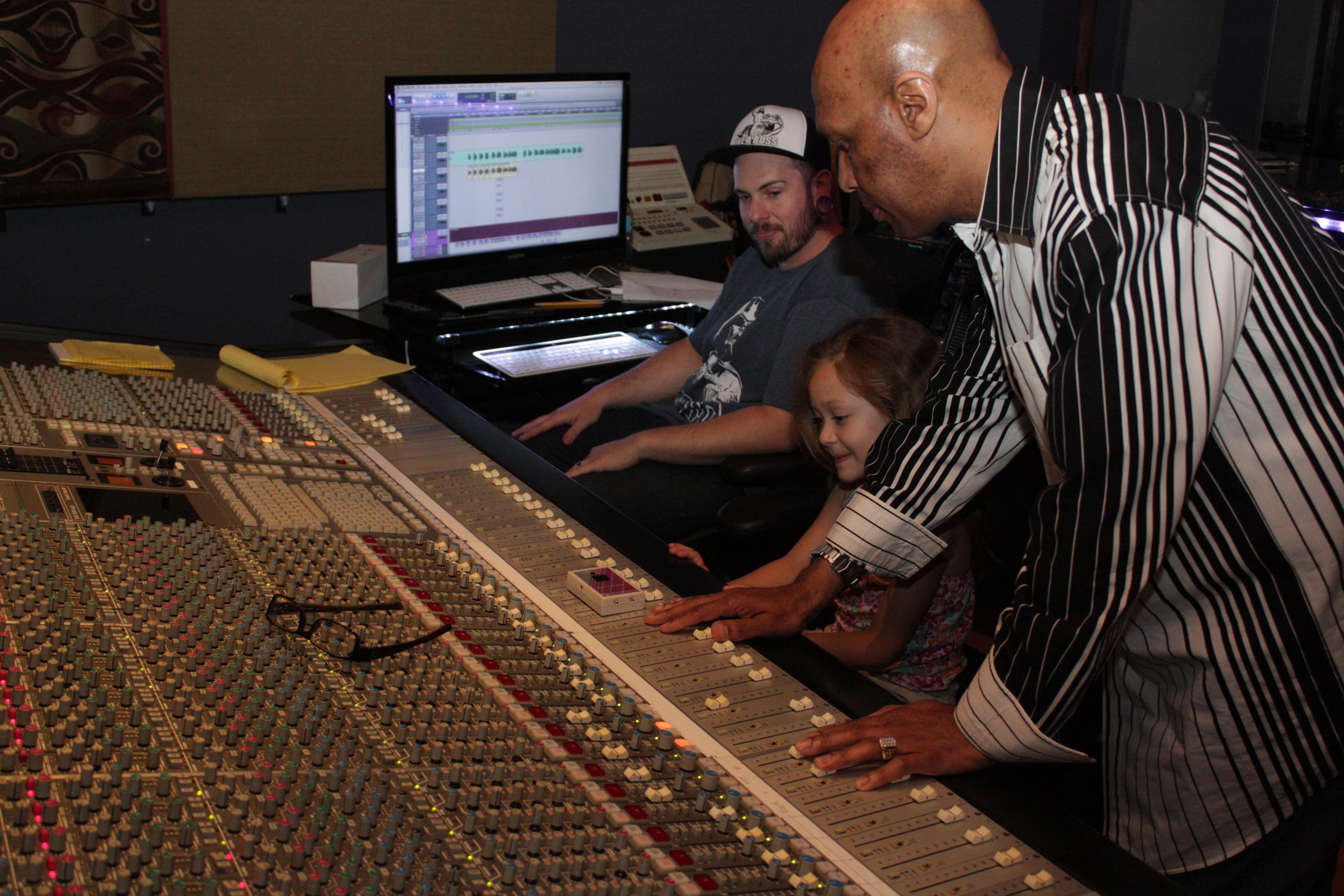 working the SSL 4000