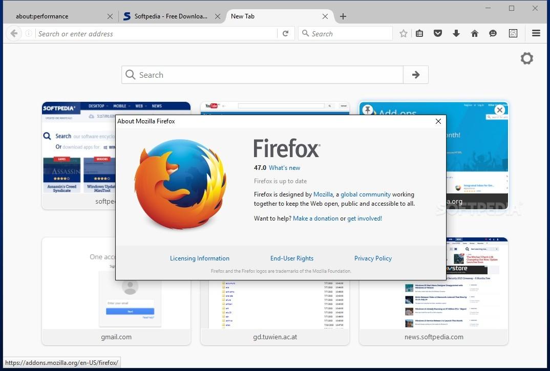 Mozilla Firefox 47 download free - qsoft-softsd