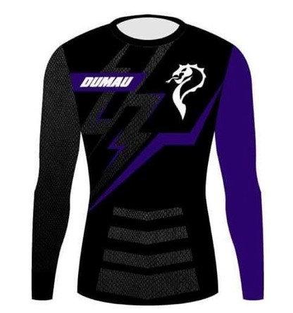 Rash Guard - Competitor Purple