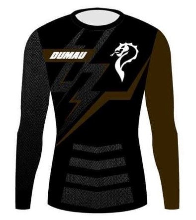 Rash Guard - Competitor Brown