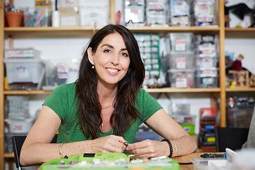 Retrato de una mujer profesional