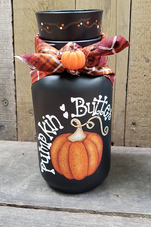 Pumpkin Butter Candle Jar