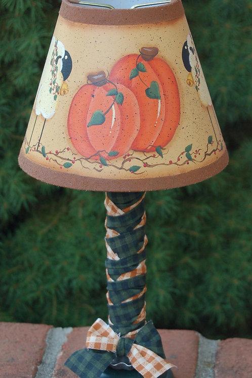 Fall Pumpkin Lamp