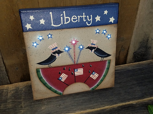 Liberty Lighted Canvas