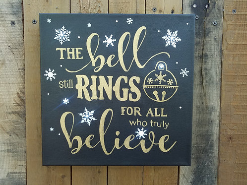 The Bell Still Rings Lighted Canvas