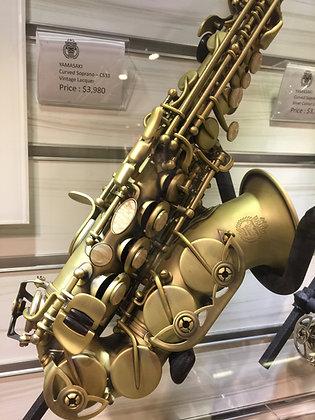 Yamasaki Curved Soprano 高音彎管色士風