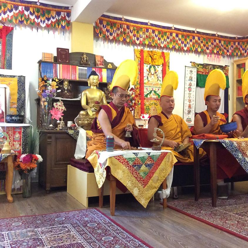 Mandala de sable et Festival avec les moines tibétains!