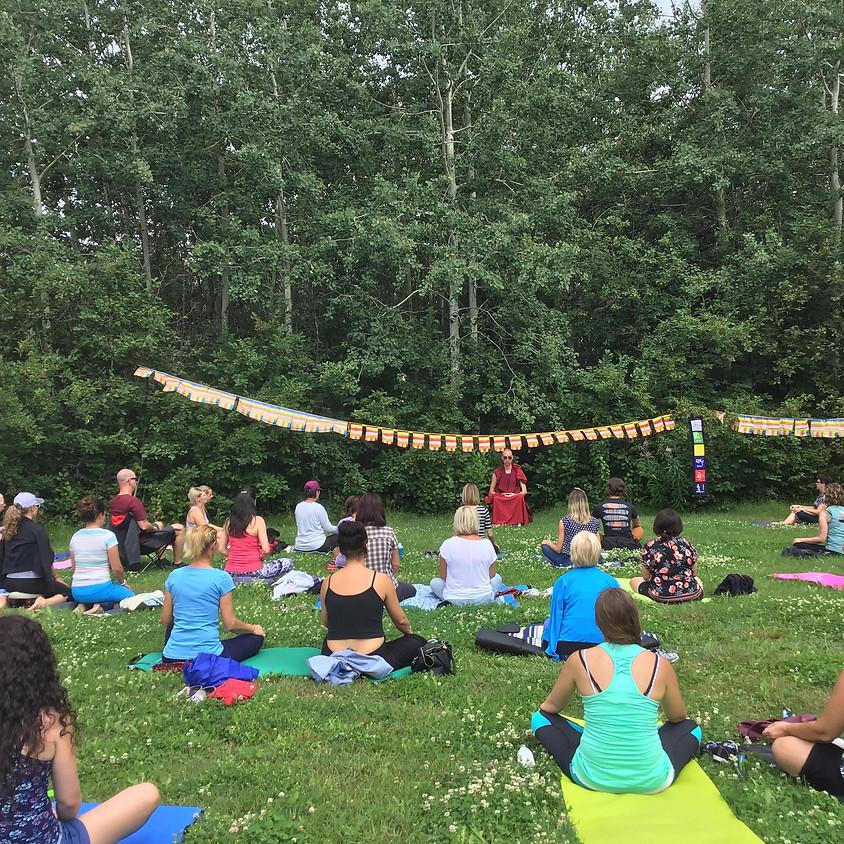 Chicoutimi : Méditation dans le parc | Août : Gratuit