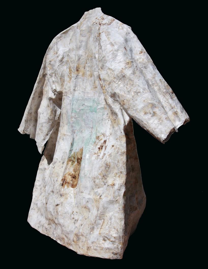 standing kimono