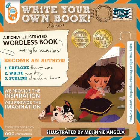 WRiTE BRAiN Wordless book