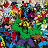 Fotomural Marvel 50% dcto.